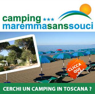 Cerchi un camping in Toscana ?